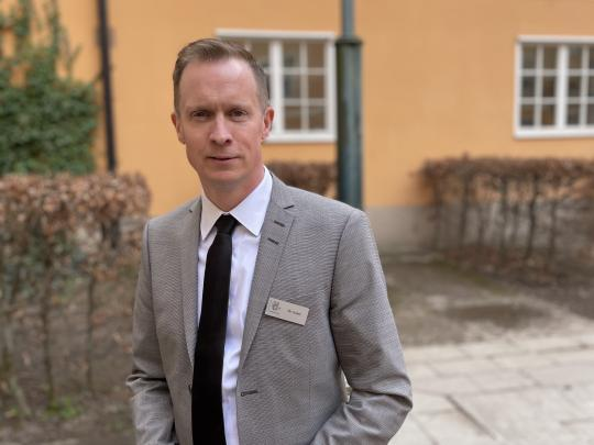 Welcome message from our new principal, Henrik Svärd. English & Swedish version.