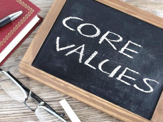 IES Linköping's Work With Values
