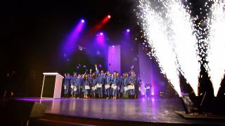 Farewell to Year 9 at Graduation