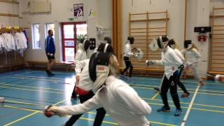 Year 8 visit a local fencing club